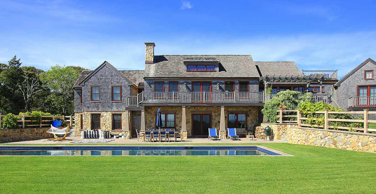 TREVS, a Chilmark vacation rental with 5 bedrooms and a pool
