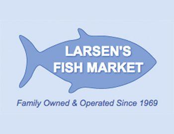 Larsen's Fish Market Logo