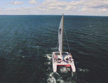 Mad Max catamaran on Martha's Vineyard